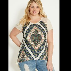 Maurices Plus Size Boho Top
